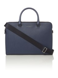 Michael Kors Medium Double Zip Briefcase Navy