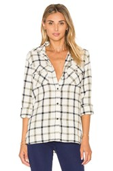 Current Elliott The Perfect Button Up Ivory