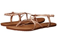Billabong Crossing Over Rose Gold Multi 1 Women's Sandals Brown