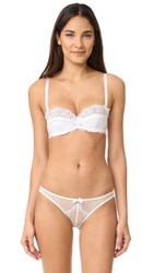Agent Provocateur L'agent By Reia Padded Balcony Bra White