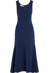 Stella Mccartney Stretch Cady Dress Navy