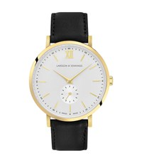 Reiss Larsson And Jennings Watch Leather Strap Lugano Jura 38Mm In Multi