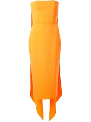 Alex Perry Hall Draped Back Cocktail Dress 60
