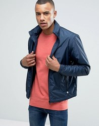Esprit Light Weight Jacket With Concealed Hood Navy
