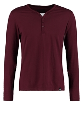 Your Turn Serafino Long Sleeved Top Bordeaux