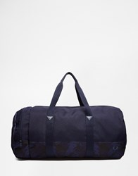 Fred Perry Nylon Carryall Blue