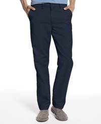Tommy Hilfiger Classic Fit Chino Pants Navy Blazer
