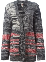 I'm Isola Marras Belted V Neck Cardigan Black