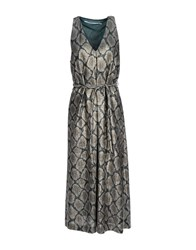 Laviniaturra Dresses 3 4 Length Dresses Women Grey
