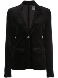 Majestic Filatures Classic Buttoned Blazer Black