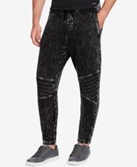 William Rast Men's Lewis Relaxed Fit Joggers Black