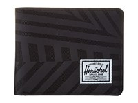 Herschel Hank Dazzle Camo Wallet Handbags Black