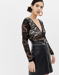 Parisian Lace Body Black
