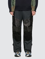 Sacai Fabric Combo Pants Black