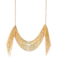 Lana Draping 14K Gold Fringe Necklace Yellow Gold