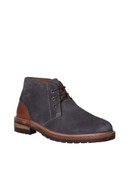 White Stuff Cleated Suede Worker Boot Grey