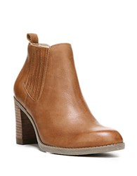 Dr. Scholl's London Leather Ankle Boots Brown