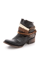 Freebird By Steven Endy Harness Short Boots Black