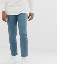Noak Skinny Fit Trouser In Teal Blue