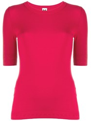 M Missoni Knitted Top Red