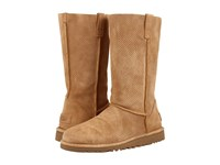 Ugg Classic Unlined Tall Perf Tawny Women's Boots Tan