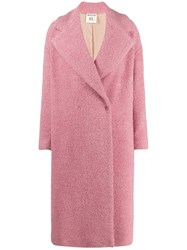 Semicouture Oversized Double Breasted Coat 60