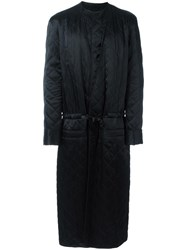 Haider Ackermann Shawl Lapel Mid Coat Black