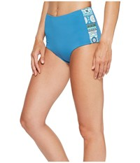 Carve Designs Sabelle Bottom Ocean Women's Swimwear Blue