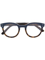 Selima Optique 'Virginie' Glasses Acetate Brown
