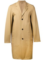 Stutterheim Single Breasted Coat Men Cotton Polyurethane S Nude Neutrals