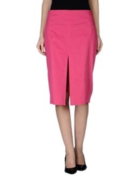 Ilary 3 4 Length Skirts Fuchsia