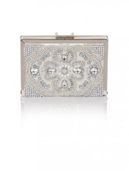 Chi Chi London Monica Clutch Bag Grey