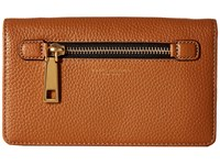 Marc Jacobs Gotham Wallet Leather Strap Maple Tan