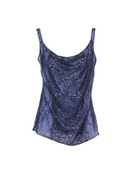 Diana Gallesi Topwear Tops Women Blue