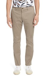 Bonobos Tailored Fit Washed Stretch Cotton Chinos Desert Granite