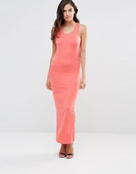 Pussycat London Jersey Maxi Dress Pink