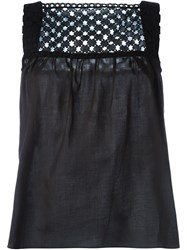 Carven Sleeveless Top Black