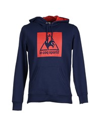 Le Coq Sportif Topwear Sweatshirts Men Dark Blue