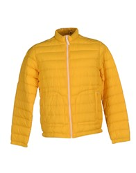 Siviglia Denim Coats And Jackets Down Jackets Men Yellow