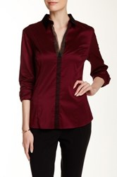 Hugo Boss Bashinovel Blouse Red