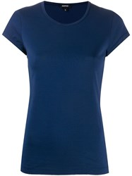 Aspesi Fitted T Shirt Blue