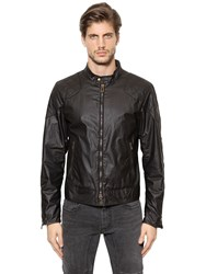 Belstaff Outlaw Waxed Cotton Moto Jacket