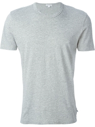 James Perse Round Neck T Shirt Grey
