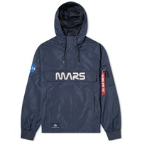 Alpha Industries Mars Mission Anorak Blue