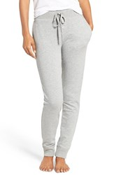 Lauren Ralph Lauren Women's French Terry Jogger Lounge Pants Heather Grey