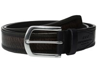 John Varvatos Laser Cut Strap Belt With Harness Buckle Black Men's Belts