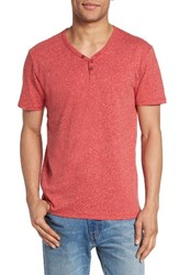 Lucky Brand Men's Y Neck Henley T Shirt