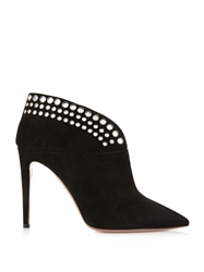Aquazzura Disco Suede Ankle Boots