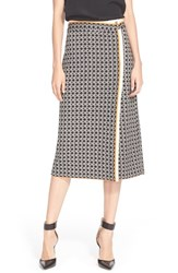 Women's Tracy Reese 'Chic' Print Ponte Knit Skirt
