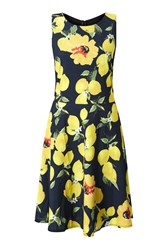 James Lakeland Print Dress Jet